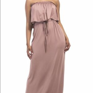 Dresses & Skirts - Lovely brown maxi dress